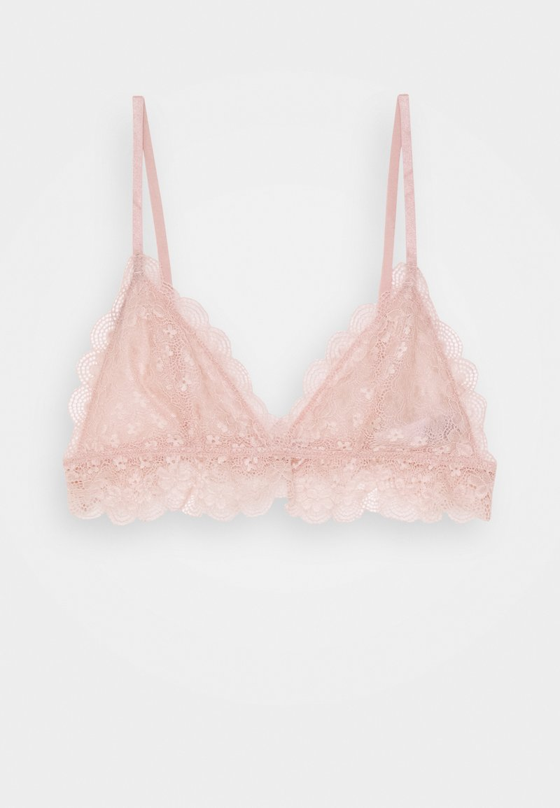 NA-KD - CHANTILLY BRALETTE - Triangel-BH - dusty pink