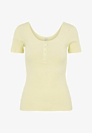 NOOS  - T-shirt med print - pale banana