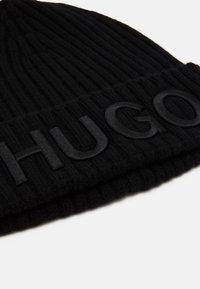 HUGO - UNISEX - Beanie - black - 3