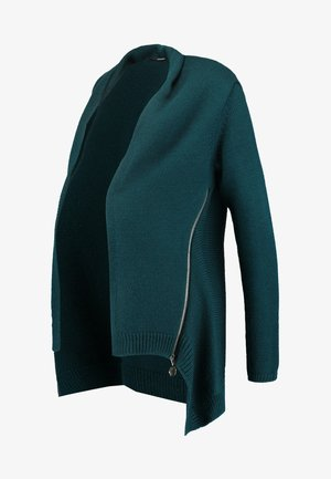 CARDIGAN ZIP - Chaqueta de punto - june bug