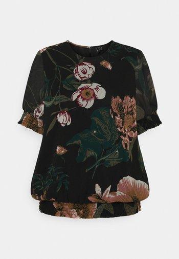 VMKATNISS SMOCK - Print T-shirt - black