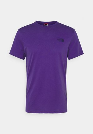 MENS SIMPLE DOME TEE - Camiseta básica - peak purple