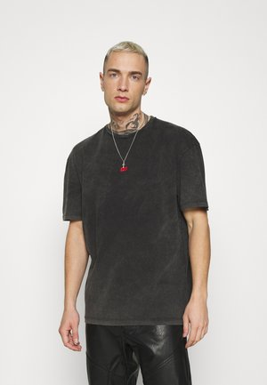 FUTURES TEE - T-shirt imprimé - washed black