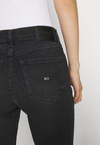 Tommy Jeans - NORA SKINNY - Jeans Skinny Fit - ceasar black - 3