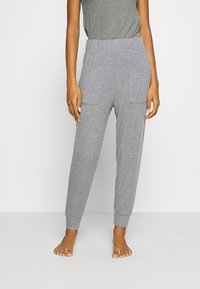 aerie - HIGH RISE MARSHALL - Tracksuit bottoms - grey - 0