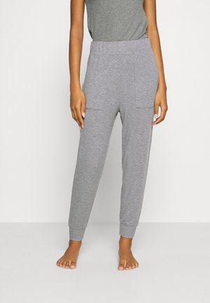 HIGH RISE MARSHALL - Tracksuit bottoms - grey