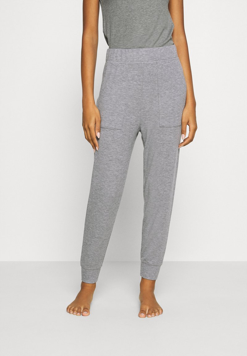 aerie - HIGH RISE MARSHALL - Tracksuit bottoms - grey