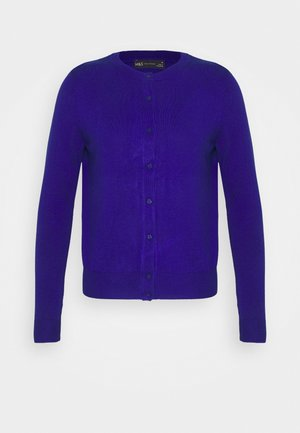 CREW CARDI PLAIN - Cardigan - royal blue