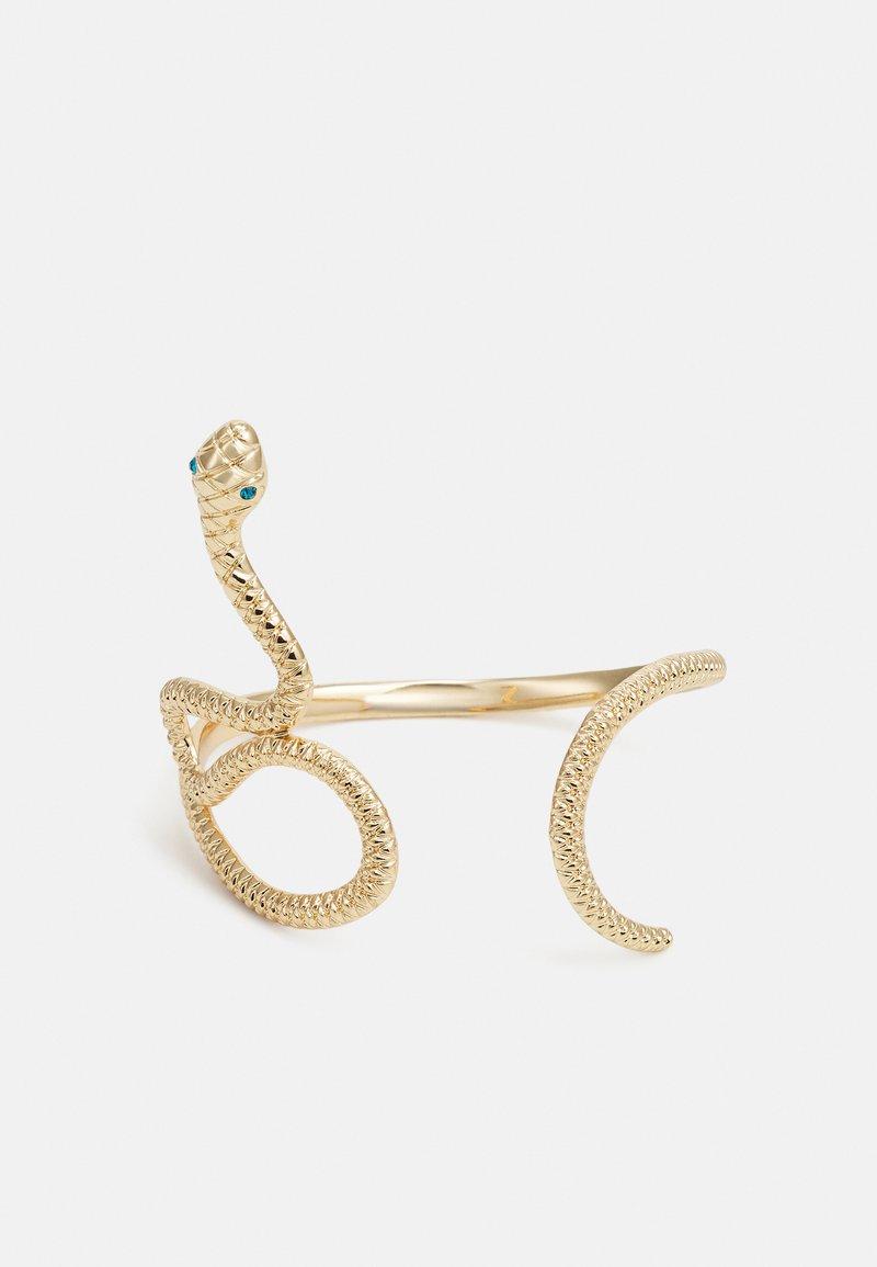 Pieces - PCLAIDE BRACELET  - Bracelet - gold colour/green