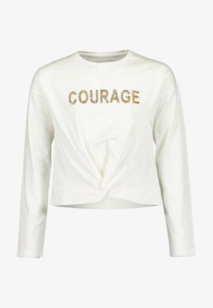 COURAGE - Long sleeved top - OFFWHITE