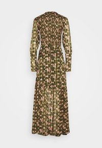 Scotch & Soda - SHEER MAXI DRESS WITH ALL OVER PRINT - Maxi šaty - green - 7