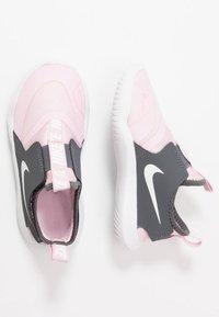 Nike Performance - FLEX RUNNER - Neutral running shoes - pink foam/white/dark grey - 0