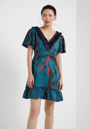 SORRENTO DRESS - Juhlamekko - teal green