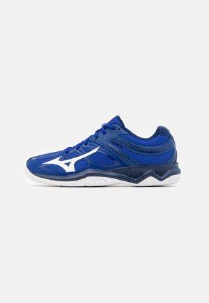 LIGHTNING STAR Z5 JUNIOR UNISEX - Volleyball shoes - reflex blue/white/diva pink