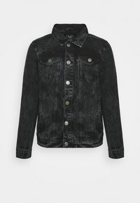 KICK - Denim jacket - charcoal