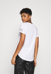 G-Star - MYSID R T OPTIC SLIM WMN S\S C - Print T-shirt - white - 2