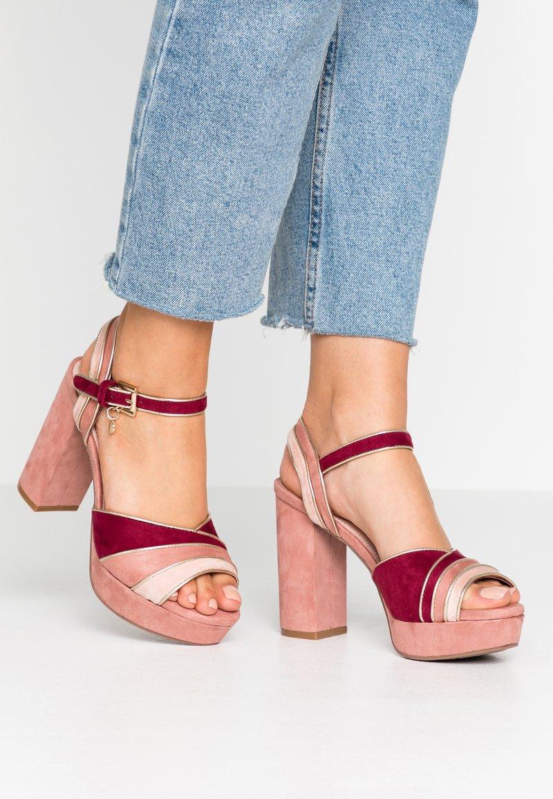 XTI - Sandalen met hoge hak - nude