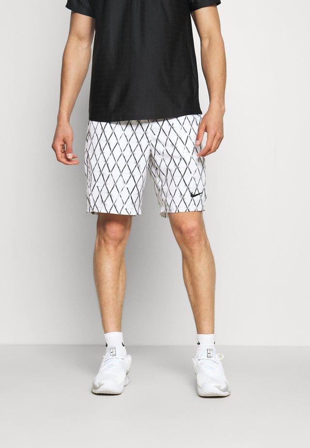 Pantaloncini sportivi - white/black