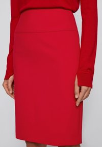 BOSS - VACRIBA - Pencil skirt - red - 3