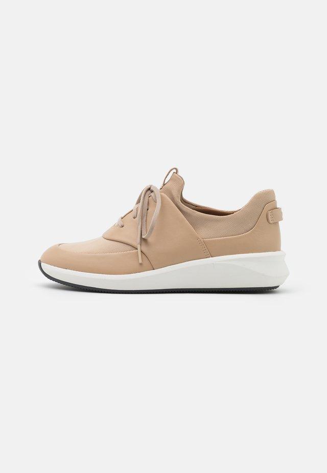 UN RIO LACE - Sneaker low - taupe