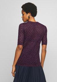 Soeur - DELON - T-shirt z nadrukiem - violet - 2
