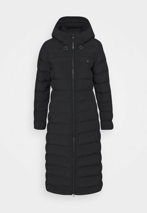SEAMLESS SORONA MAXI - Winter coat - black
