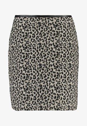 SKIRT SHORT - Pencil skirt - anthracite