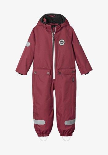 SEVETTI - Snowsuit - jam red