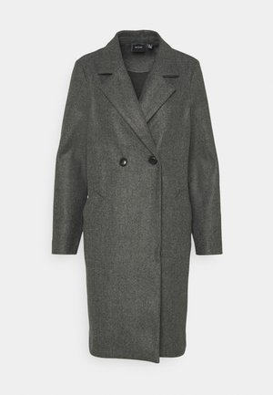 VMFORTUNEADDIE JACKET - Classic coat - dark grey melange