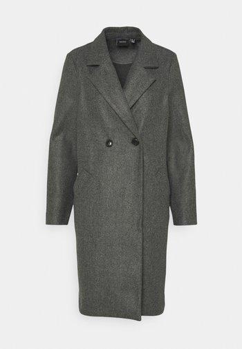 VMFORTUNEADDIE JACKET - Klasický kabát - dark grey melange
