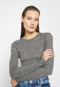 ARKET - Long Sleeve - Long sleeved top - grey medium - 3