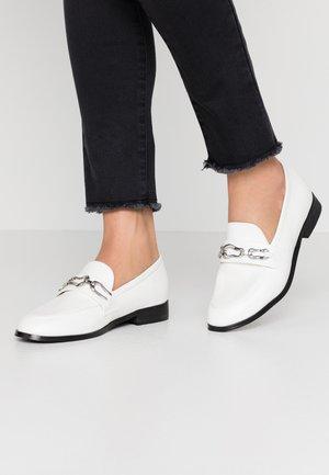 SERAFINA - Nazouvací boty - white
