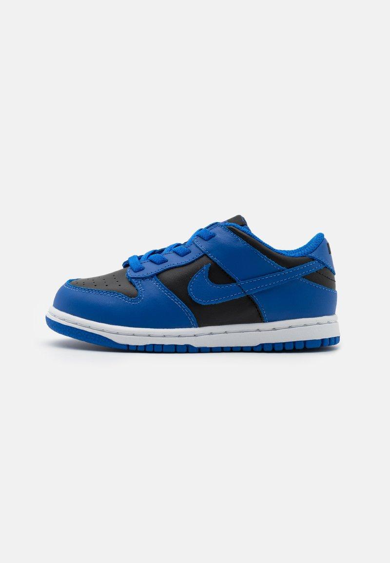 Nike Sportswear - DUNK  - Sneakersy niskie - black/hyper cobalt/white