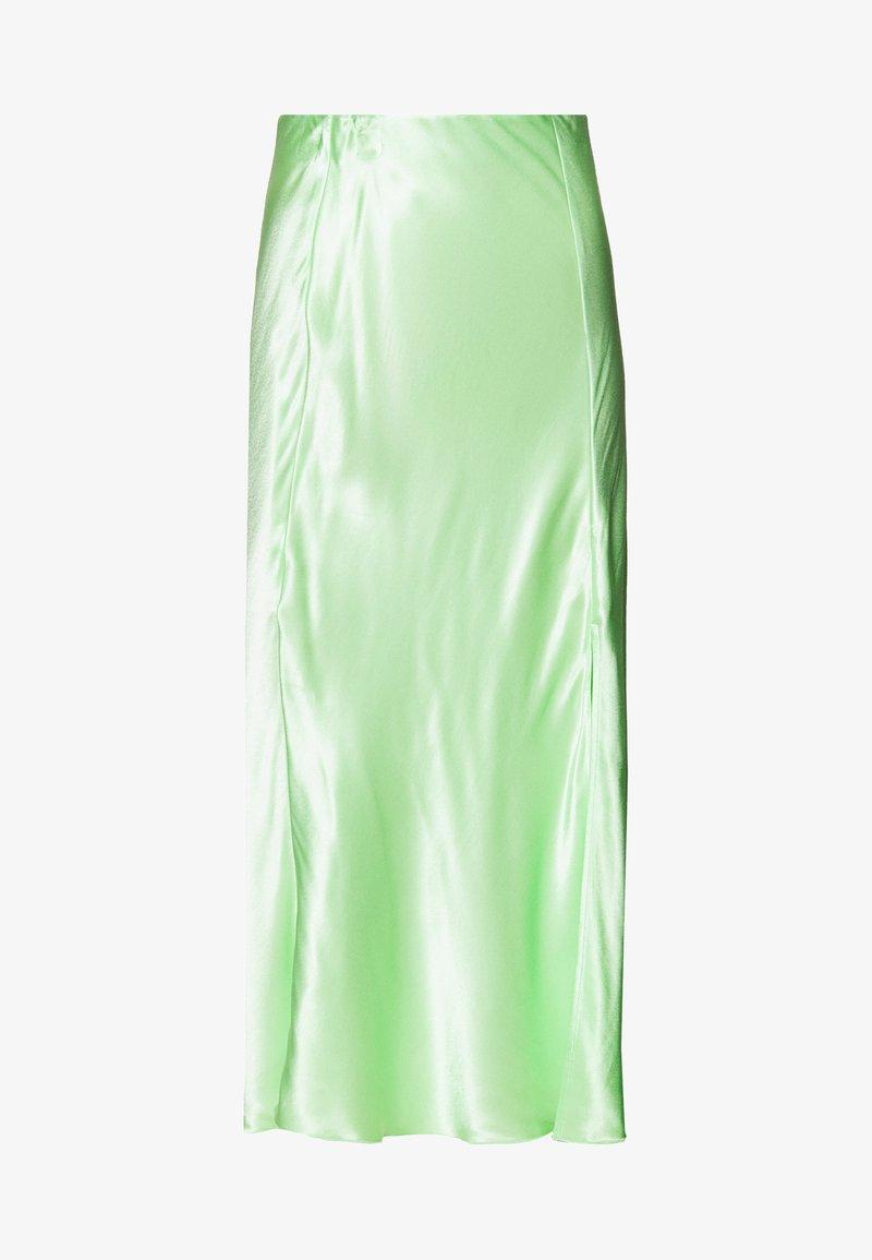 Weekday - WAVE SKIRT - Áčková sukně - green light