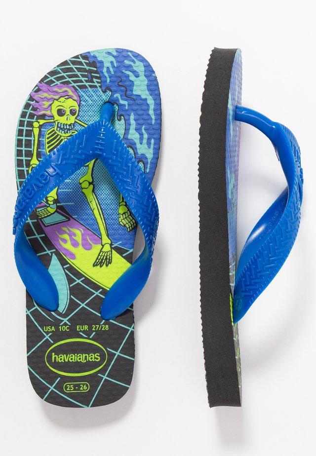 KIDS RADICAL - Pool shoes - black/blue star