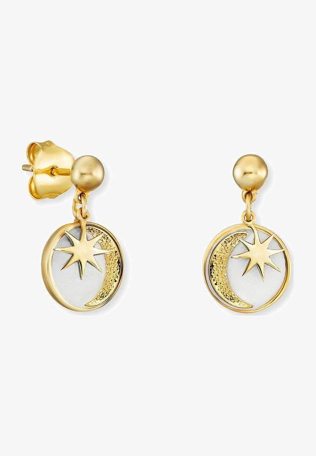 SONNE, MOND & STERN  - Earrings - gelbgold