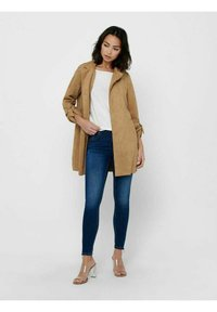 ONLY - Short coat - toasted coconut - 1