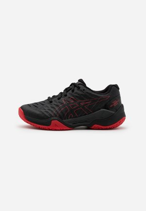 BLAST UNISEX - Handball shoes - black/classic red