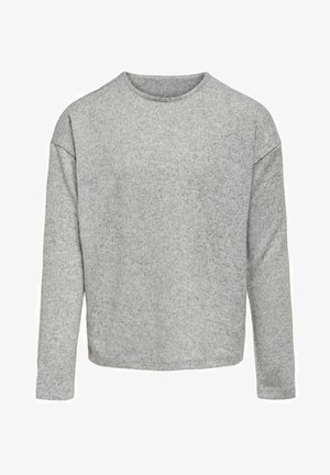 Longsleeve - light grey melange
