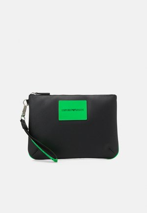 HANDBAG UNISEX - Handbag - dark green/black