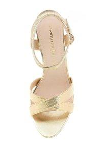 PRIMA MODA - CERSUTA - Korolliset sandaalit - platinum - 3