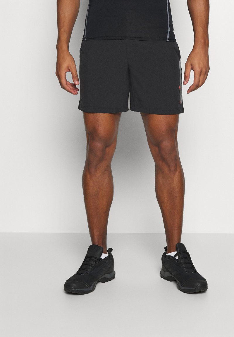 Jack & Jones - JCORUNNING SHORTS  - Sports shorts - black