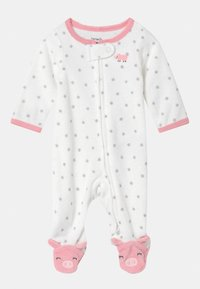 Carter's - PIGGY  - Kruippakje - white/light pink - 0