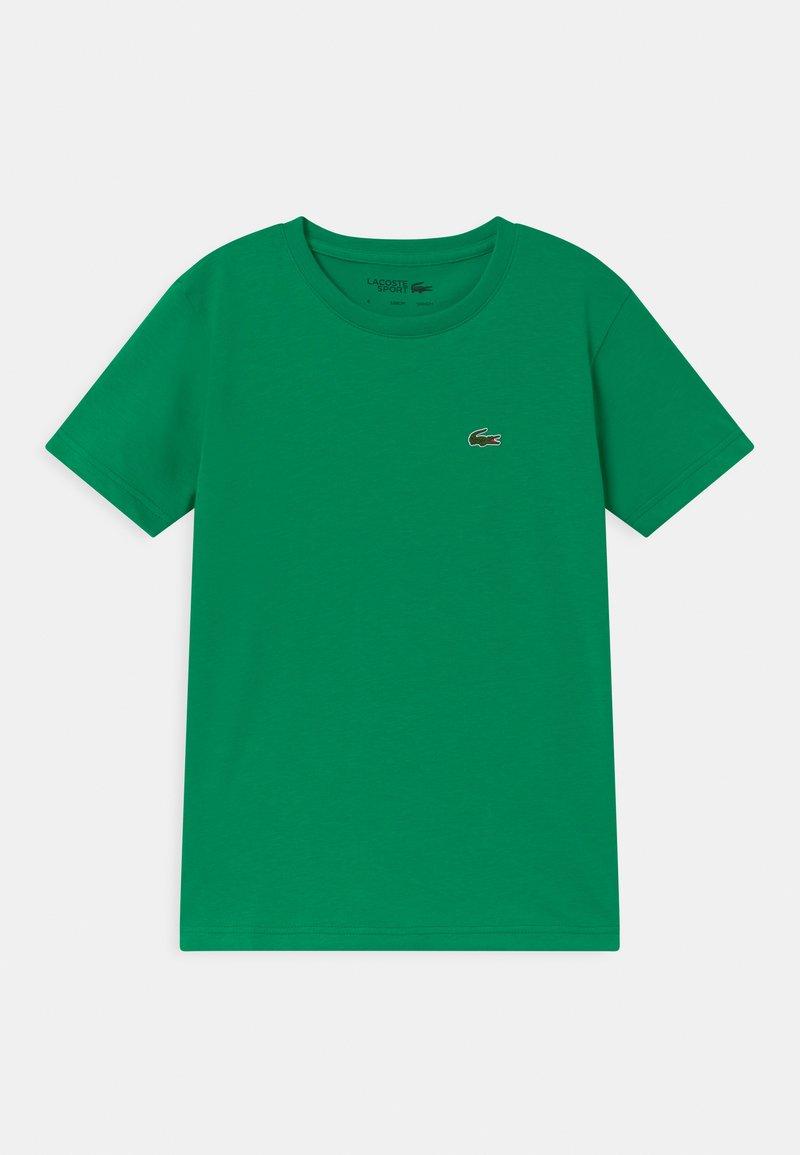 Lacoste Sport - LOGO UNISEX - Basic T-shirt - palm green