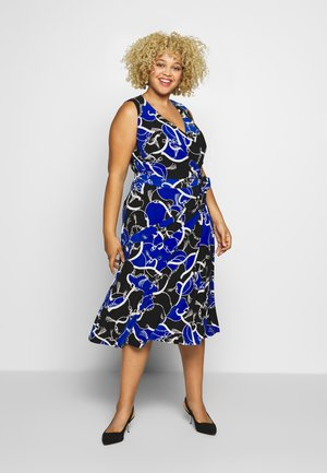 CARANA SLEEVELESS DAY DRESS - Jersey dress - blue