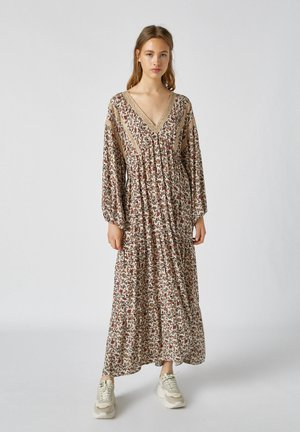 MIT PRINT - Maxi dress - orange