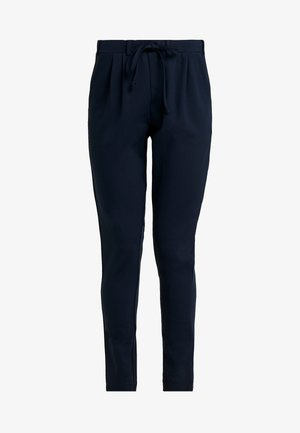 KAJOJO STRING PANTS - Pantalon classique - midnight marine