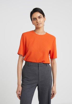 TEE - Basic T-shirt - tangerine