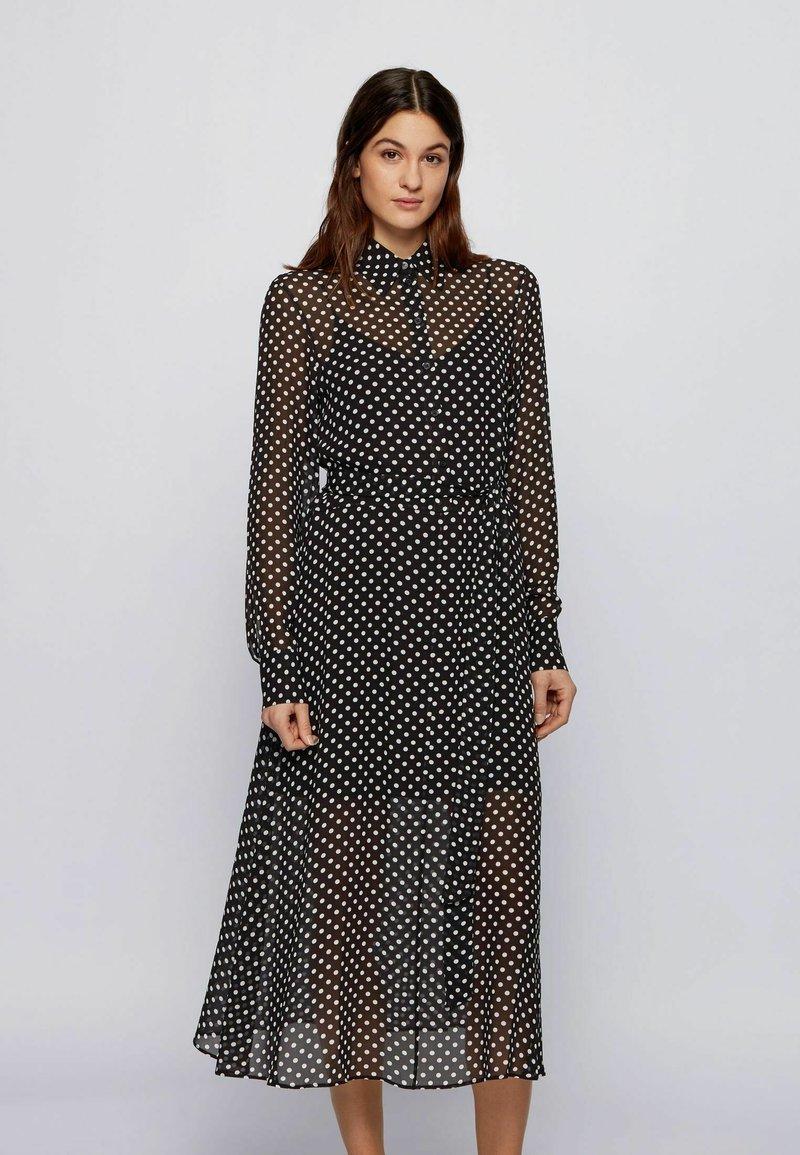 BOSS - Shirt dress - black