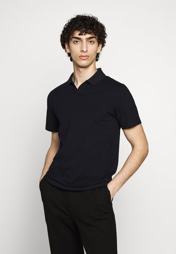 Polo shirt - charcoal blue